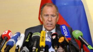 Sergei Lavrov, minisitiri w'ububanyi n'amahanga w'Ubrusiya.