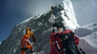 Pendaki Puncak Everest, AFP
