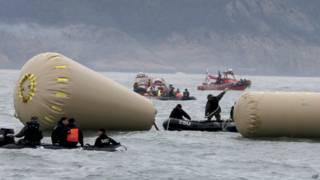 दक्षिण कोरिया नौका हादसा