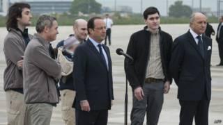 Французские журналисты