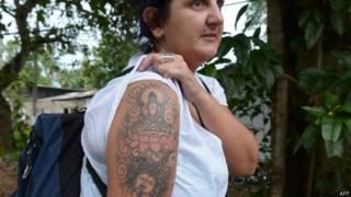 श्रीलंका में ब्रितानी महिला