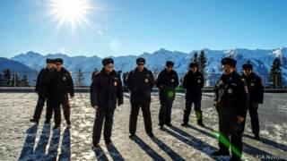 Полицейские в Сочи