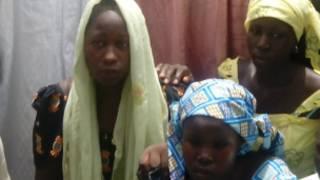 Wasu 'yan matan Chibok