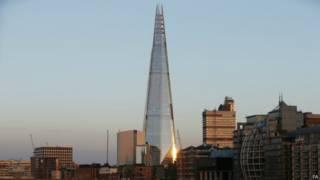 倫敦碎片大廈 london shard
