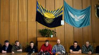 """""""Пресс-конференция"""" наблюдателей ОБСЕ"""