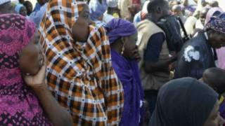 Wasu iyayen 'yanmatan da Boko Haram suka sace
