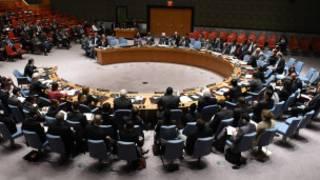 Une vue d'une séance du Conseil de sécurité de l'ONU