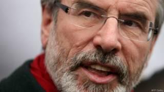 Gerry Adams (AFP/Getty)