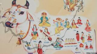 गाय और देवी-देवता