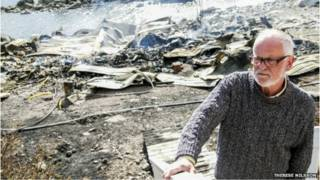 स्वीडन में आग