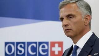 Titular de la OSCE, Didier Burkhalter