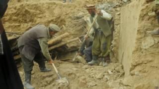 Оползень в Бадахшане