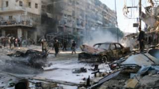 अलेप्पो में हुए एक धमाका (फ़ाइल फ़ोटो)