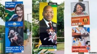 दक्षिण अफ़्रीका मतदान
