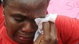 नाइजीरिया में अगवा की गई एक लड़की की माँ