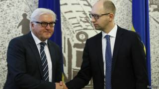 Штайнмайер и Яценюк