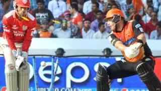 आईपीएल टीम सनराइज़र्स हैदराबाद के एरॉन फिंच