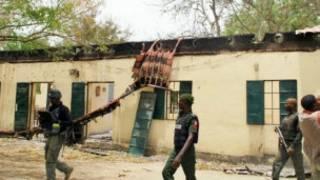Makarantar da aka sace 'yan mata fiye da 200 a Chibok