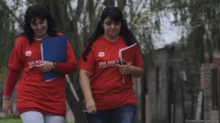 Educadores do programa 'Vuelva a estudiar' (Governo de Santa Fé)