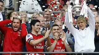 Wenger yemeza ko Arsenal igiye gusubira gutwara ibikombe