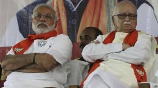 लाल कृष्ण आडवाणी, भारतीय जनता पार्टी, नरेंद्र मोदी, प्रधानमंत्री
