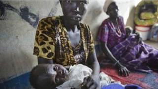 Wasu yan Sudan ta kudu