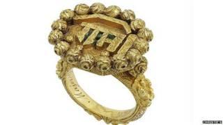 टीपू सुल्तान की अंगूठी