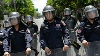 Militarización en Tailandia