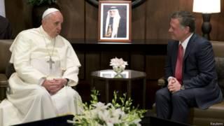 Папа Франциск и Абдалла II