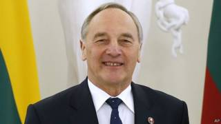 Latviya Prezidenti Andris Berzinsh