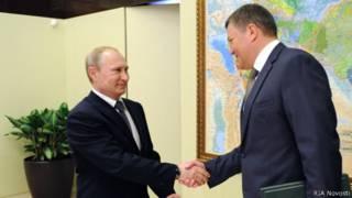 Владимир Путин принял отставку губернатора Вологодской области Олега Кувшинникова