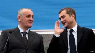 Александр Анкваб и Владислав Сурков