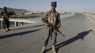 افغان پولیس- کندهار