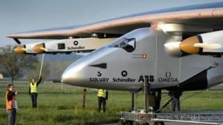 सौर ऊर्जा से चलने वाला विमान