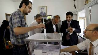 सीरिया में राष्ट्रपति चुनाव