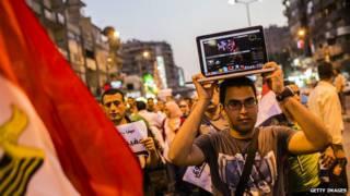 मिस्र, सोशल मीडिया