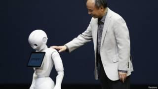 जापान का पेपर रोबोट