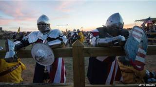 मध्यकालीन युद्ध का मंचन, स्पेन