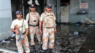 Fuerzas de seguridad paquistaníes