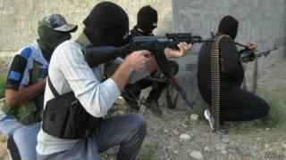 Kelompok militan di Mosul