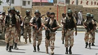 कराची, हवाई अड्डे के समीप स्थित प्रशिक्षण केंद्र पर हमला