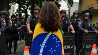Protesto em 20 de junho de 2013 no Rio (AFP)