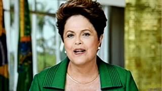 ब्राज़ील की राष्ट्रपति, डिल्मा रुसेफ