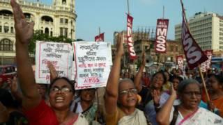 Unjuk rasa pemerkosaan India