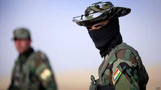 Guarda curdo (AFP)