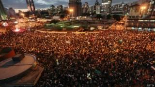 Protestos em São Paulo em junho de 2013 (Getty)
