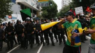 protesto em São Paulo | Getty
