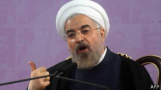 Hassan Rouhani aravuga ko nta basirikare yohereje muri Irak