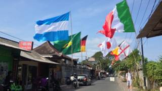 Piala Dunia di Bali
