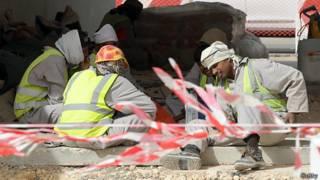Trabajadores inmigrantes en Arabia Saudita